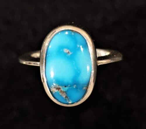 Persian Turquoise ring top view